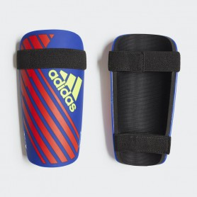 A2655 สนับแข้ง Adidas X Club Shin Guards-Bold Blue/Active Red/Solar Yellow