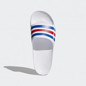 A2869 รองเท้าแตะ Adidas Duramo Slides-White/Power Blue/Red
