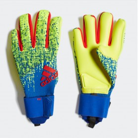 A3165 ถุงมือผู้รักษาประตู ADIDAS Predator Pro Gloves-Solar Yellow/Bold Blue/Active Red