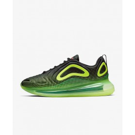 N4366 Men's Running Shoe Nike Air Max 720-Black/Volt/Bright Crimson