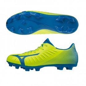 M4573 Football Boots MIZUNO REBULA 3 SELECT-Safety Yellow/ Directoire Blue