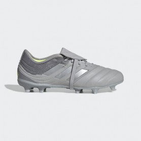 A4682 Football Boots ADIDAS Copa Gloro 20.2 FG-Grey Two/Silver Metallic/Solar Yellow