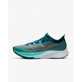N4836 Men's Running Shoe Nike Zoom Fly 3 Premium-Neptune Green/Midnight Turquoise/Aurora/Hyper Crimson