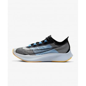 N4851 Men's Running Shoe Nike Zoom Fly 3-White/University Blue/Laser Orange/Black