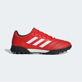 A4890 รองเท้าฟุตบอล 100 ปุ่ม สนามหญ้าเทียม ADIDAS Copa 20.3 TF-Active Red/Cloud White/Core Black