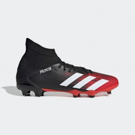A4901 Football Boots ADIDAS Predator 20.3 FG-Core Black/Cloud White/Active Red