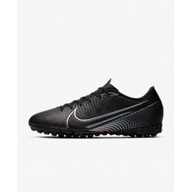 N4929 Football Boot Nike Mercurial Vapor 13 Academy TF-Black/Black