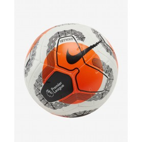 N4224 Football NIKE Premier League Strike-White/Black/Black/Hot Punch